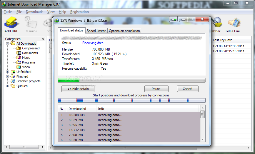 Internet download manager idm.