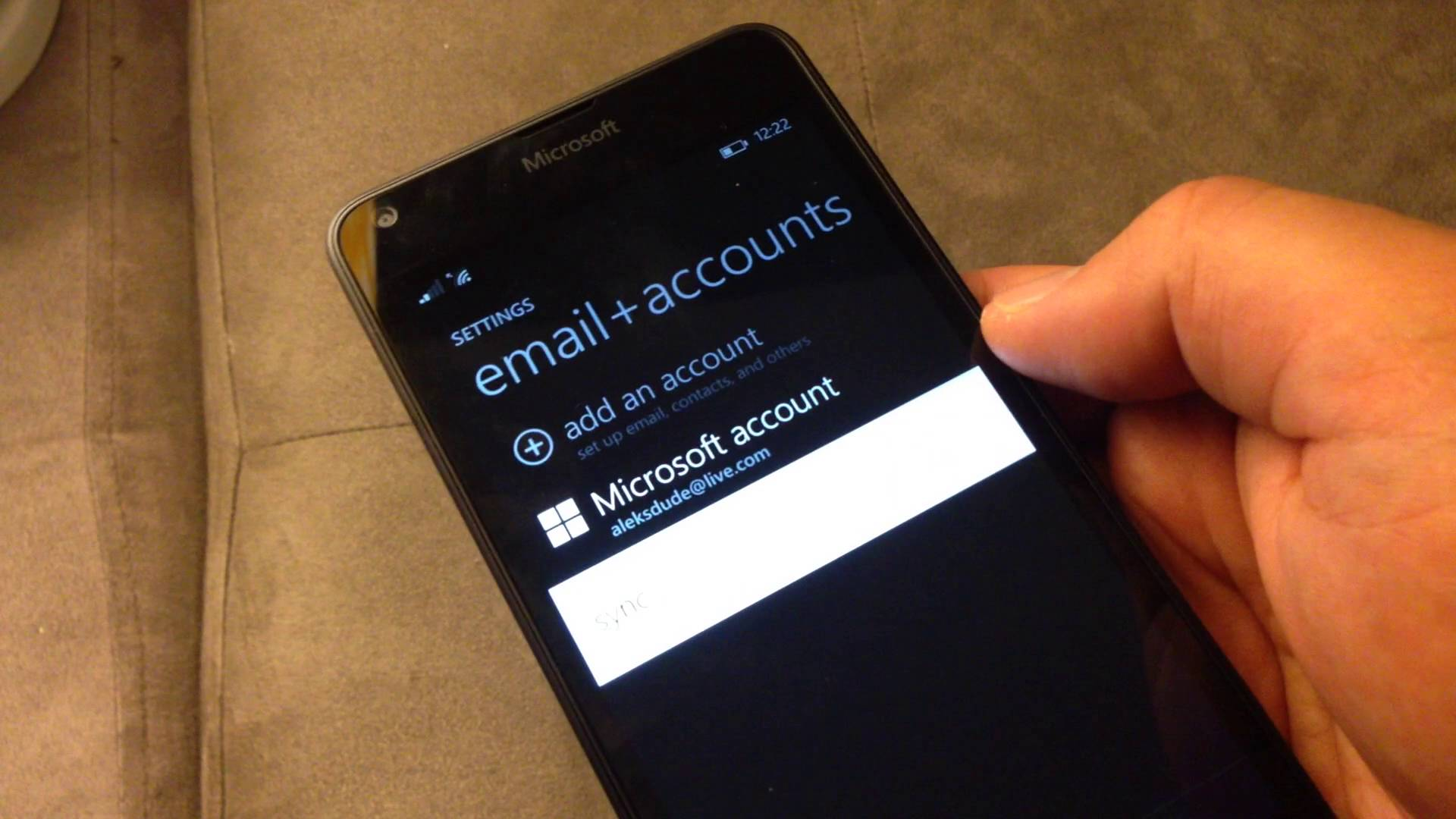How to create a Nokia account